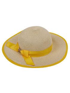 Cappello di paglia bambina con fiocco JYASOHAT2 / 20SI0181CHA009