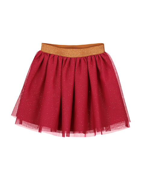 Gonna in tulle con glitter bambina FABAJUP2 / 19S90161JUP304