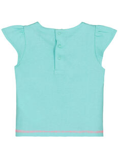 T-shirt con stampa neonata FICUTI2 / 19SG09N2TMC219