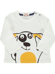 Baby boys' fancy long-sleeved T-shirt DUJOTEE5 / 18WG1035TML001