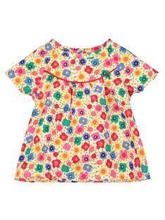 Camicia con stampa neonata FICOCHEM / 19SG0981CHE000