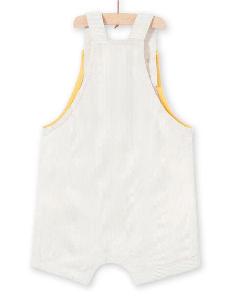 Salopette beige neonato LUBALSAC / 21SG10O1SAC632