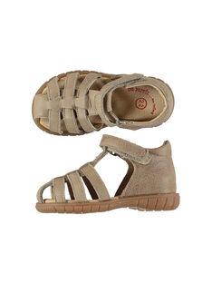 Sandali da città pelle neonato FBGSANDFET / 19SK38C2D0E080