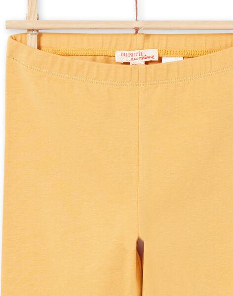 Leggings gialli bambina MYAJOLEG2 / 21WI0112CALB106