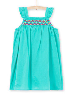 Light green Dress JAMAROB3 / 20S901P3ROB629