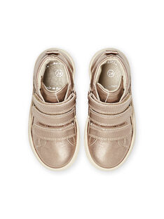 Sneakers alte dorate bambina MABASGOLD / 21XK3557D3F954