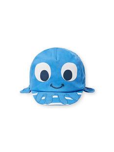 Cappellino blu neonato LYUCASQ / 21SI10D1CHAC238
