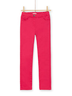 Jeggings rosa scuro tinto in capo LAJOJEG2 / 21S90144D2BF507