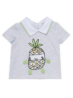 T-Shirt Maniche Corte Bianca JOU2TI1 / 20SF04M1TMC000