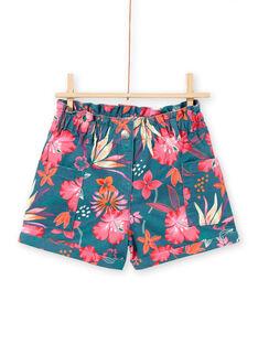 Shorts con stampa fiori hawaiani LABONSHORT3 / 21S901W1SHO716