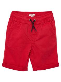 Bermuda bambino tinta unita rossi JOJOBERMU5 / 20S902T6D25F505