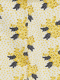 Leggings gialli con motivo JYASOLEG2 / 20SI0181CAL001