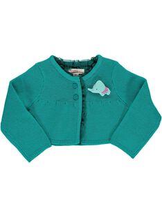 Baby girls' bolero cardigan CIDOUCAR1 / 18SG09J1CAR202
