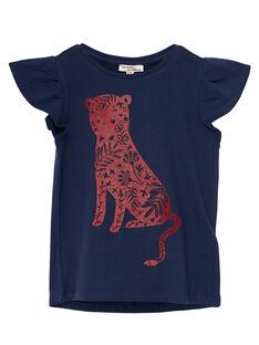 T-Shirt Maniche Corte Navy JAJOTI4 / 20S90141D31070