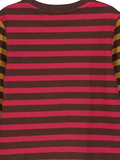 T-shirt a Righe Maniche Lunghe GOBRUTEE3 / 19W902K4TML816