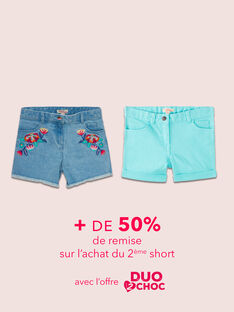 OPERAZIONE DUO : Shorts per Bambina
