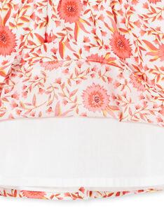 Abito a campana con stampa a fiori neonata LINAUROB1 / 21SG09L2ROB001