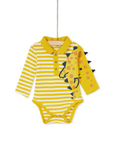 Yellow BODY SUIT KUREBOD / 20WG10G1BODB107