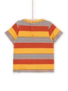 T-shirt a maniche corte cammello neonato LUTERTI4 / 21SG10V2TMCF519