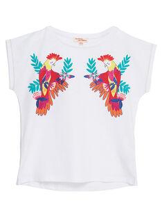 T-shirt maniche corte con stampa pappagallo JAMARTI1 / 20S901P2TMC000