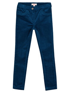 JEGGINGS VELLUTO STRETCH GAJOVEJEG1 / 19W90144D2B070