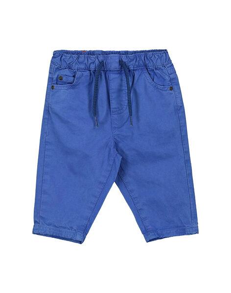 Pantaloni blu neonato FUJOPAN2 / 19SG1032PANC207