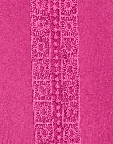 Purple LONGSLEEVE T-SHIRT KAJOLTEE2 / 20W90131D32H704