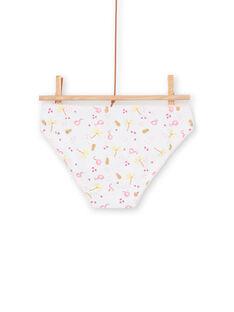 Set 3 slip rosa e gialli bambina LEFALOTJAU / 21SH11G1D5L000
