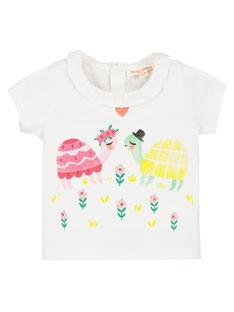 T-shirt con stampa neonata FIYEBRA / 19SG09M1BRA000
