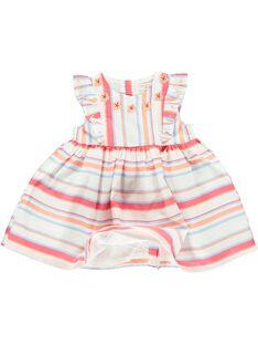 Baby girls' sleeveless dress CIBUROB2 / 18SG09K3ROB099