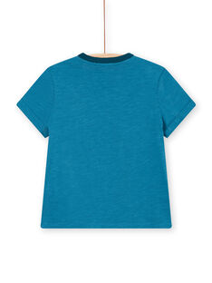 T-shirt blu bambino LOVERTI5 / 21S902Q3TMC715