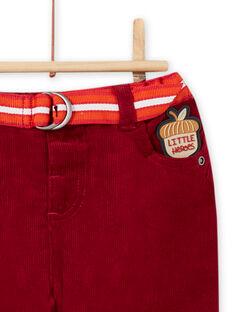 Pantaloni e cintura a righe neonato MUFUNPAN1 / 21WG10M1PAN504