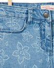 Shorts 5 tasche stampa fiori LAJOSHORT2 / 21S90142D30P272