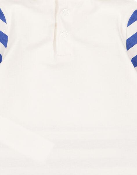 Dolcevita a righe in jersey neonato GUBLASOUP / 19WG10S1SPL001