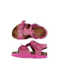 Sandali da città pelle neonata FBFNUPRINT / 19SK37D4D0E304
