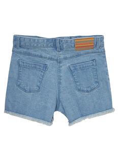 Shorts in jeans ricamato JAMARSHORT / 20S901P1SHOP272