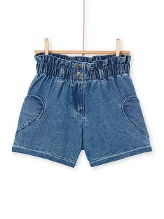 Shorts in jeans blu LANAUSHORT / 21S901P1SHOP274
