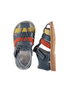 Sandali da città pelle neonato FBGSANDTRI / 19SK38K2D0EC218