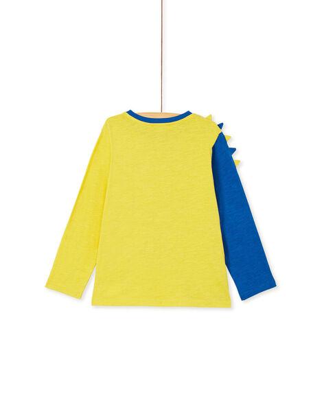Golden yellow LONGSLEEVE T-SHIRT KORETEE2 / 20W902G1D5I106