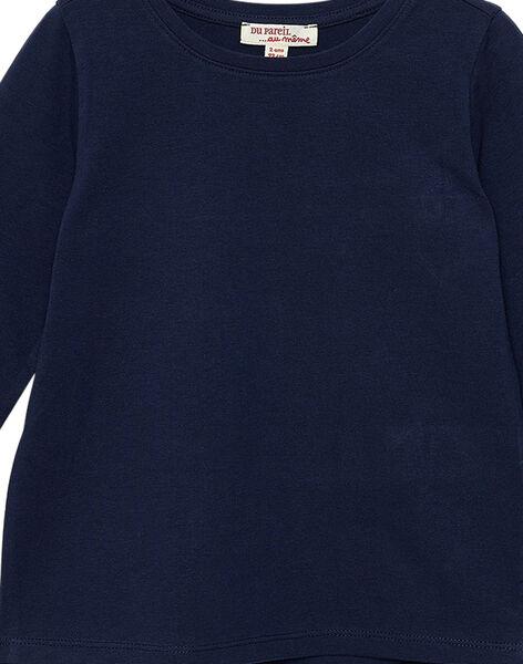 T-Shirt Maniche Lunghe Navy JAESTEE2 / 20S90165D32070