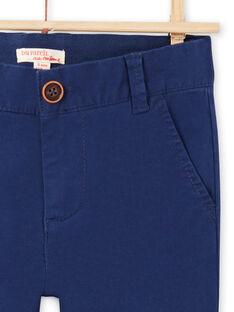 Pantaloni navy bambino MOESPACHI1 / 21W902E2PAN070