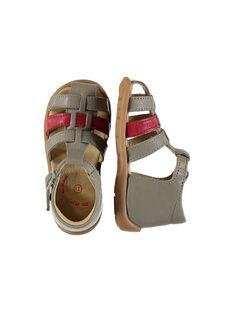 Sandali da città pelle neonato FBGSANDBI3 / 19SK38D2D0E940