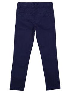 Pantaloni chino Navy GOJOPACHI1 / 19W90244D2B070
