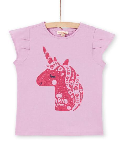 T-shirt viola e rosa LAJOTI2 / 21S90135D31320