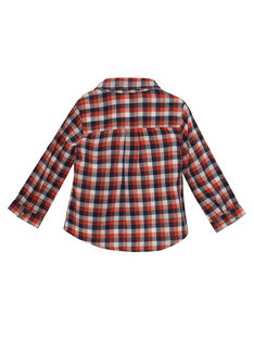 Camicia a quadri neonato JUVICHEM / 20SG10D1CHM001