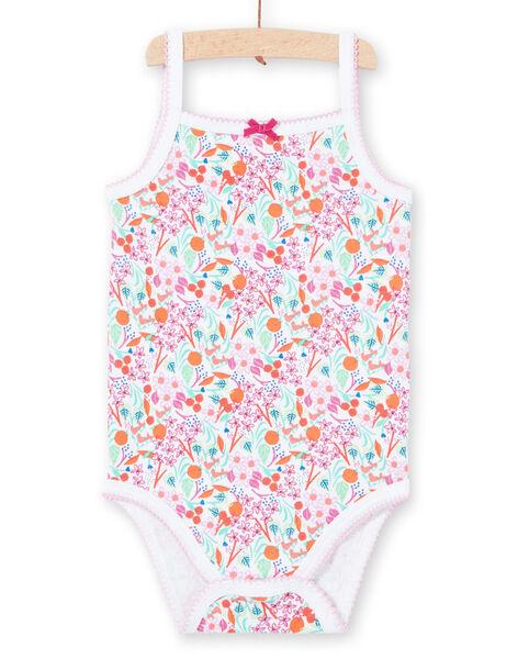 Body bianco con stampa neonata LEFIBODDES / 21SH13G2BDL000