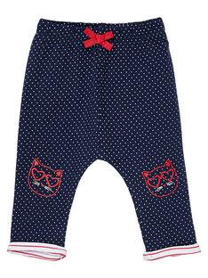 Pantaloni in doppio jersey neonata JIGRAPAN / 20SG09E1PAN070