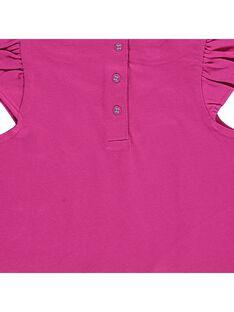 Baby girls' short-sleeved T-shirt CIGAUTI / 18SG09L1TMC304