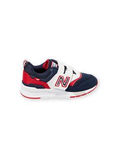 Sneakers navy e rosse New Balance bambino KGPZ997HVN / 20XK3626D37070