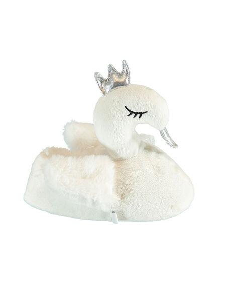 White NIGHT SLEEPERS KFBOOTCYGN / 20XK3581PTD000
